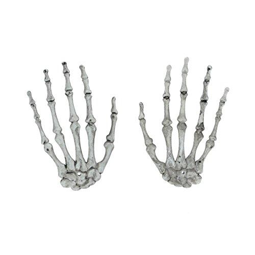 ett Knochen Hände Party Bar Halloween Requisiten Deko Hände Skeletthände (Größe 1) (Kunststoff-knochen Für Halloween)