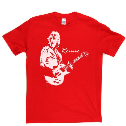 Mick Ronson English Rock Guitarist Mott the Hoople T-shirt Rot