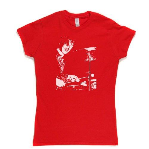 Bonzo Womens Fitted T-Shirt Rot