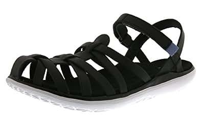 Teva Terra-Float Stella Lux W's Damen Sport- & Outdoor Sandalen, Schwarz (Black 513), EU 42