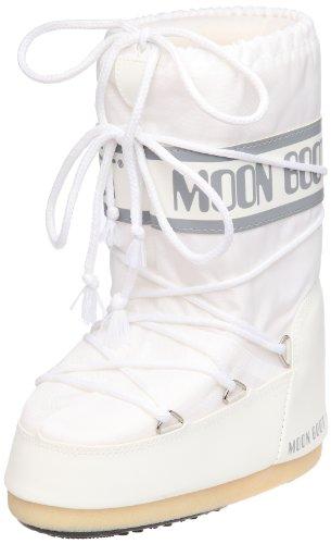 Moon Boot Nylon weiß 006 Unisex 27-30 EU Schneestiefel