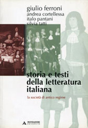 Storia e testi della letteratura italiana: 5