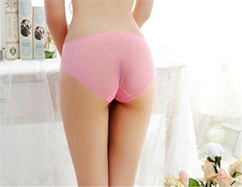 YALL-Frauen / Unterwäsche einteiliger Mesh Höschen Niedrigtaille Slip weiblich ultradünnen breathable Sommer xgred