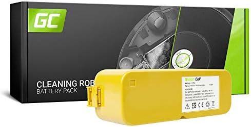 verde Cell® 11709 Aspirapolvere Batteria per iRobot (Ni-MH pile 3.5Ah 3.5Ah 3.5Ah 14.4V) | Costi Moderati  | Una Grande Varietà Di Merci  | In Linea Outlet Store  e50615