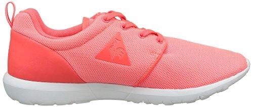 Le Coq Sportif Dynacomf W Poke, Baskets Basses Femme Rose (Fiery Coral)