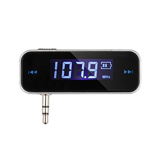 Generic Wireless 3. 5mm Car Music Audio FM Transmitter for iPod Mobile iPhone