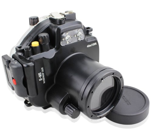 CameraPlus - Unterwasser digitalkamera - Unterwassergehäuse für Olympus E-M5 (OM-D) bis 40m Wasserdicht leicht bedienbar PT-EP08