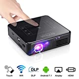 OTHA Mini Projector Android 7.1 Home Cinema WiFi Bluetooth Projectors