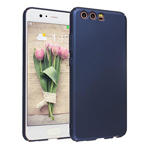 Preisvergleich Produktbild Huawei P10 Plus PC Hülle Asnlove Schutzhülle Anti-Rutsch-Vollschutz Anti Fingerprint Hart Schutz Etui Tasche Shell Schutz mobile Handy Abdeckung Bag blau