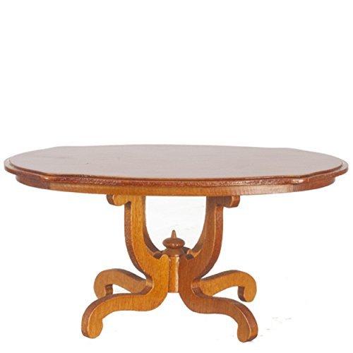 melody-jane-casa-de-munecas-nogal-ovalado-base-mesa-de-comedor-miniatura-muebles-de-comedor