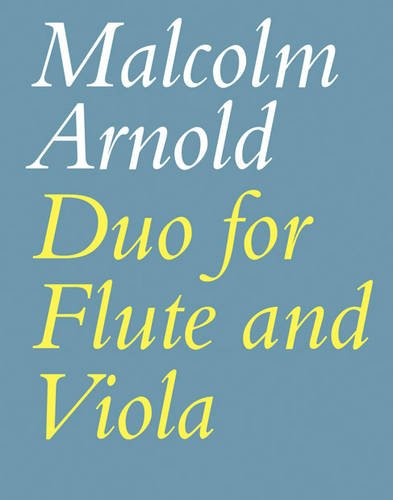 Duo for Flute and Viola: (Playing Score) (Faber Edition)