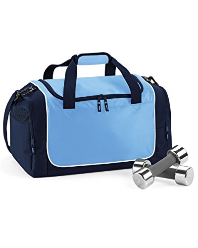 quadra-teamwear-locker-bag-in-sky-navy-white-apparel