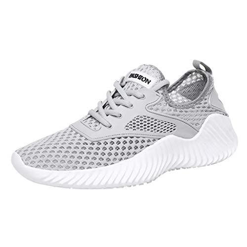 Kaister Herren Damen Outdoor Mesh Lace Up Lässige Sportschuhe Run Atmungsaktive Turnschuhe Leichtgewicht Schuhe (Camper-tennis-schuhe)