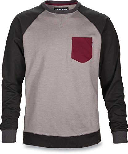 dakine-sudadera-para-hombre-belmont-crew-forro-polar-athletic-heather-l-10000888