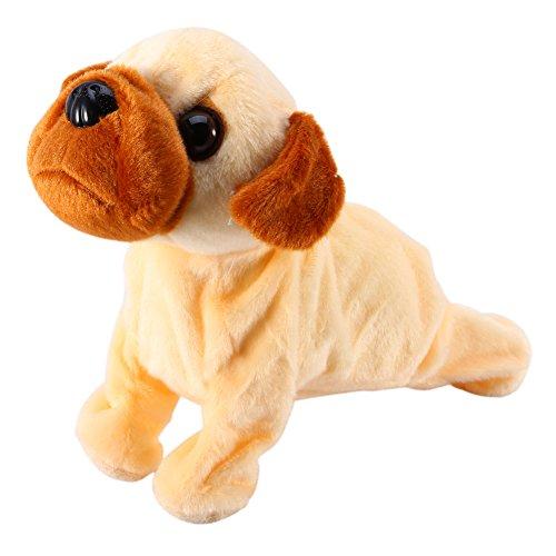 Mascotas Electrónicos Control De Sonido Perros Electrónicos Interactivos Robot Perro Bark Stand Walk Toy Perro Para Niños Navidad (Exquisite dog)