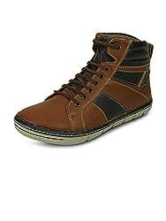 Get Glamr Mens Tan Boots (Get (GET-433) - 9 UK