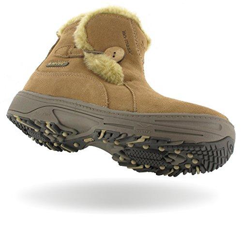 Hi-tec miel V-lite pour femme chaud Motif flocons de neige avec des bottes de neige Beige - Miel