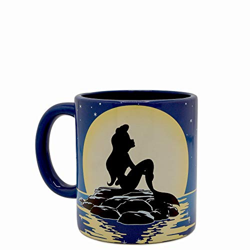 Little Mermaid 20oz Jumbo Ceramic Mug w/Spinner Standard - Jumbo Ceramic Mug