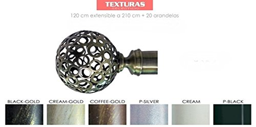 texturas-basic-home-barra-sencilla-forja-universal-extensible-de-120-a-210-cms-terminales-modelo-bol
