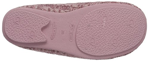 Gabor Home 3406, Chaussons à doublure chaude femme Rose - Rose