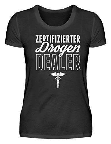 Chorchester Perfekt für Jeden Coolen Apotheker - Damenshirt -XXL-Schwarz