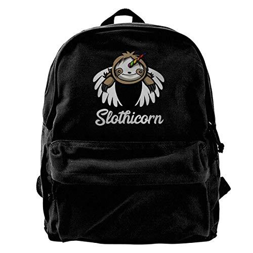 Otter-laptop-tasche (Rucksäcke, Daypacks,Taschen, Cartoon Cute Otters Canvas Backpack for Men Women Lightweight Travel Backpack Cute Shoulder Bags Laptop Backpack)