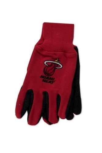 Wincraft NBA bicolor Handschuhe, unisex, rot