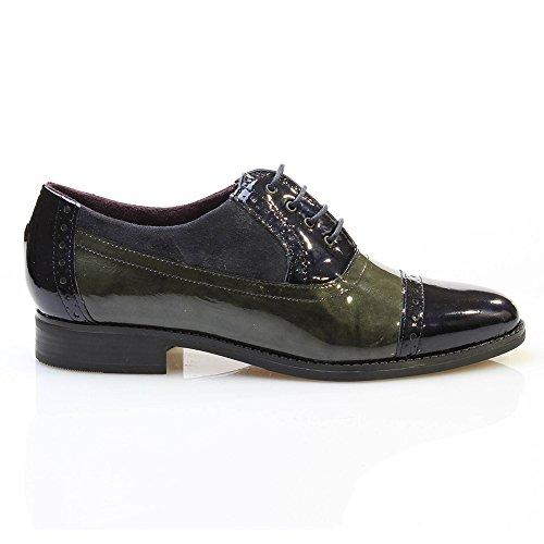 Pitillos Donna scarpe Derby blu Size: 36