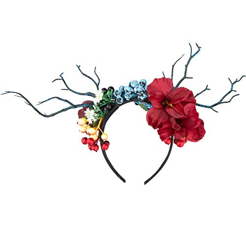 dressforfun 302795 Donna Accesorio Ornamento per Il Capo, Multicolore, Carnevale Festa