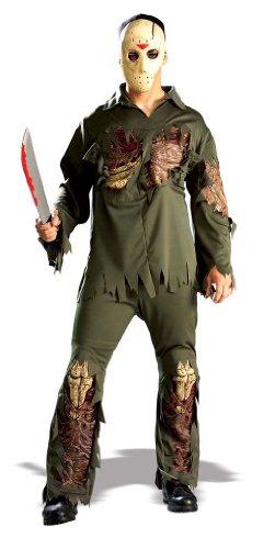 Freitag der 13te Jason Kostüm für Erwachsene - Einheitsgröße (Jason Vorhees Kostüme)