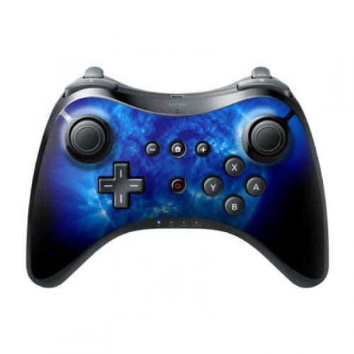 DecalGirl Nintendo Wii U Pro Controller Skin Aufkleber Design Sticker - Blue Giant