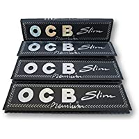 OCB Slim rolling paper king size   party material ( pack of 4 )