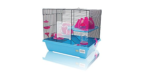 Cage pour hamster 43 * 31 * 37 cm Lovely