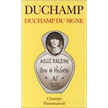 Duchamp Du Signe by Marcel Duchamp (1994-09-27)