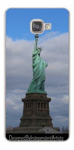 TPU Transparent SilikonHülle für Samsung Galaxy A9 (SM-A9000) - Freiheitsstatue by Christine aka stine1 (Lady Liberty-cover)