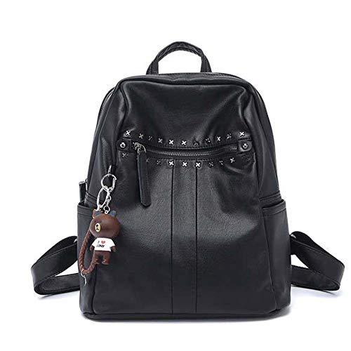 hsy Einfacher Rucksack, Wild College Wind Rucksack mit großer Kapazität, Verstellbarer Gürtel mit großer Kapazität, zum Aufhängen von Handtaschen geeignet für Dating Shopping