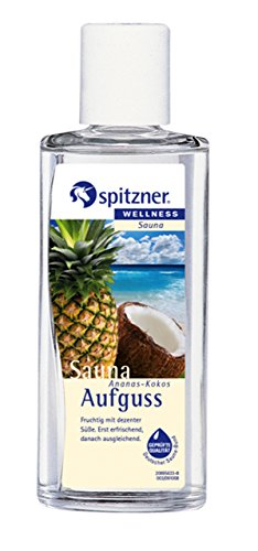 Saunaaufguss Wellness Ananas-Kokos 190 ml (Baum Des Lebens Vitamine)