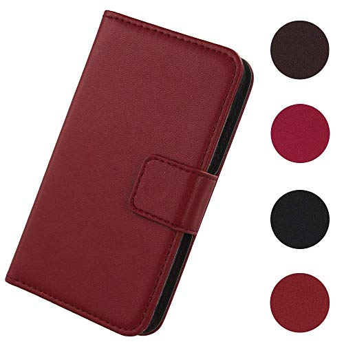 Lankashi Flip Premium Echt Leder Tasche Hülle Für Archos Core 60s 6