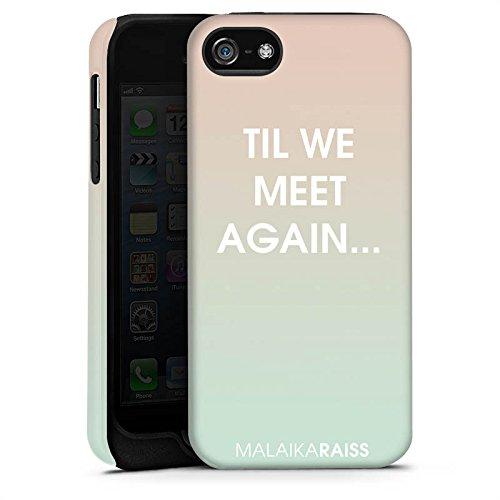 Apple iPhone 4 Housse Étui Silicone Coque Protection Phrases Dégradé de couleur MALAIKARAISS Cas Tough terne