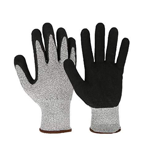 Yantong Gao Schnittschutzhandschuhe Handschutzhandschuhe 5-Fach Schnittschutz für Schleif- und Reparaturarbeiten Mehrzweckhandschuhe