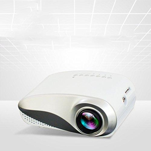 HD Video Projektor Unterstützung 480 * 320 Auflösung Unterstützung 1080 P HDMI USB SD VGA AV für Multimedia Heimkino