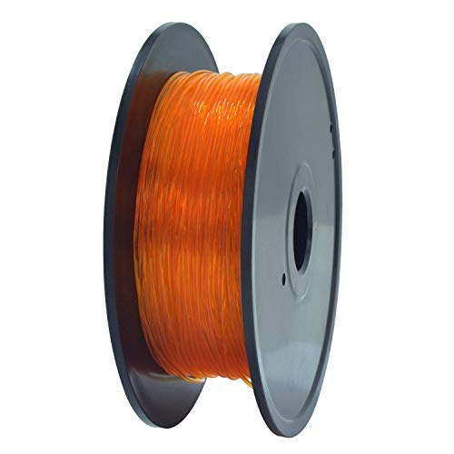 GEEETECH TPU Filamento flexible 1.75mm Naranja, 3D Drucker Filament 400g 1 Spool...