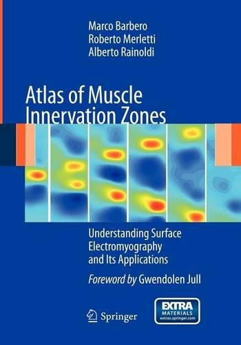 Atlas of Muscle Innervation Zones: Understanding Surface Electromyography and Its Applications por Roberto Merletti