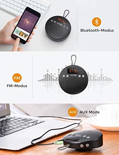 VicTsing Bluetooth Lautsprecher, Tragbarer wasserdichter Wireless Lautsprecher – Mit Bluetooth - 2