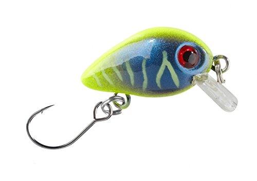 Wobbler Trout Crank mit Einzelhaken / 603 Gelb-Blau, 2g