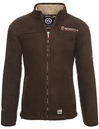 Geographical Norway Herren Fleece Jacke warme Sweatjacke Winter Sweater