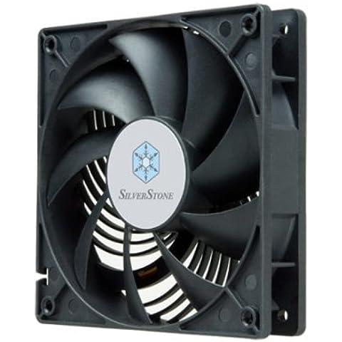 Silverstone AP122 - Ventilador de PC (Ventilador, Conjunto de chips, 12 cm, Negro, 12V, 12 cm)