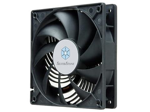 SilverStone SST-AP122 - Air Penetrator Computer Case Cooling Fan 120mm, Low Noise, High Airflow, Low Power, 9-bladed, black