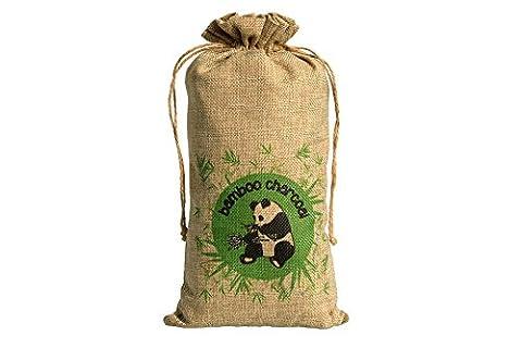 Natürlicher Geruch Vernichter und Schuh Deodorisierer – Duft – Bambuskohle Lufterfrischer für frische Schuhe Feuchtigkeit Kontrolle Beutel mit Schnur