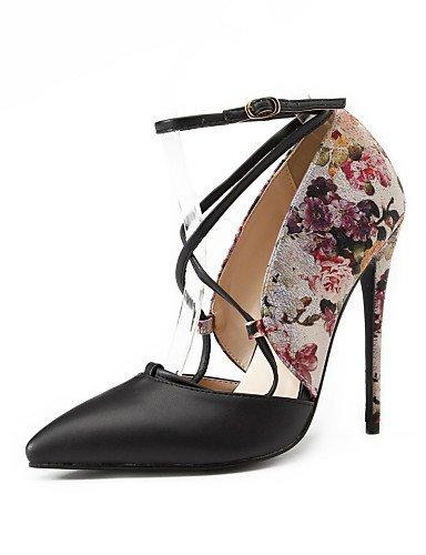 WSS 2016 chaussures talons printemps / été / automne / pointu orteil talons partie des femmes&soirée / robe / stiletto occasionnel talon beige-us5.5 / eu36 / uk3.5 / cn35